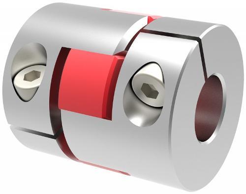 Miniature elastomer coupling MJT-C