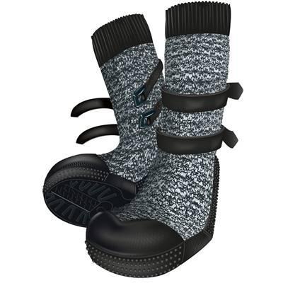 Protection Des Pattes Walker Socks L, 2 Pcs, Noir/gris