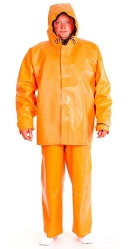 Suit for protection against water, chemistry and biological