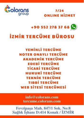 İzmir'de Tüm Dillerde Yeminli Ve Noter Onaylı Tercüme