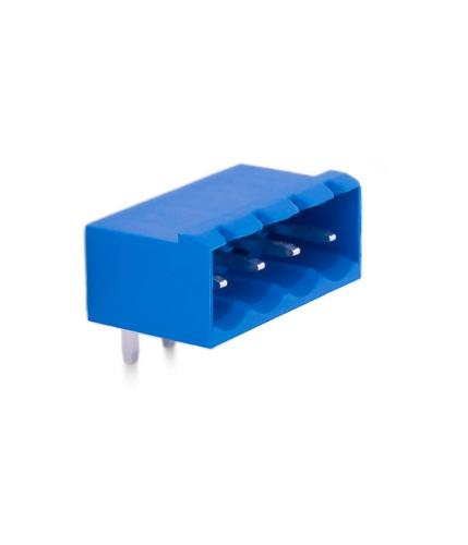5,08mm Socket Terminal Male 90° With Side Panels - 4 Pins
