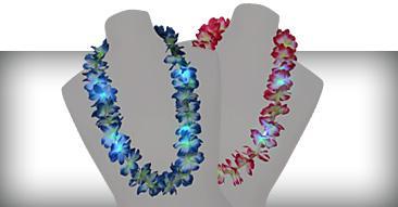 LED Hawaiiketten Blumenketten