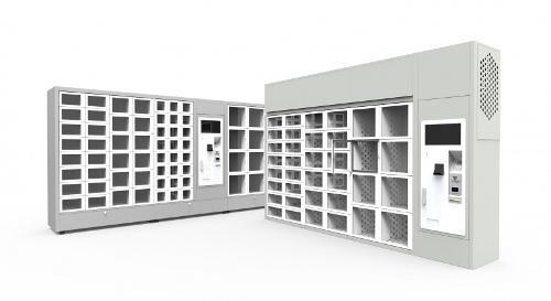 Distributeur à casiers