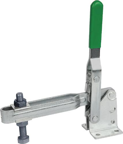 Toggle Clamps Vertical With Horizontal Foot, Large Version