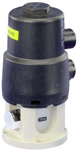 Valvola a sfera con azionamento pneumatico 6D