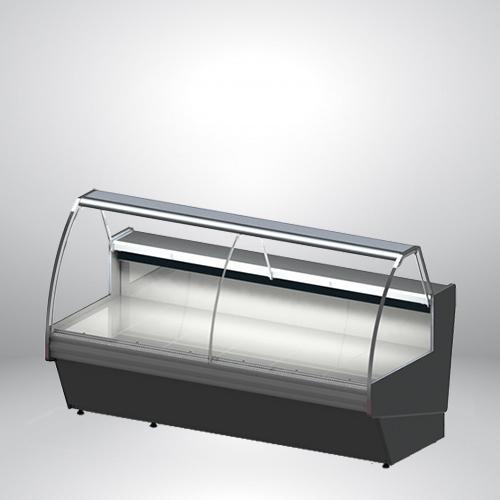 Kühlvitrine mit externem Aggregat