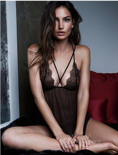 2017 Women Sexy Lingerie V-neck Lace