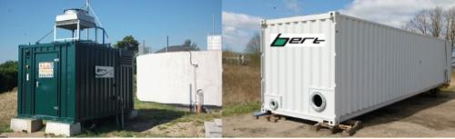 Мобильный биогазовый комплекс Bert Energy