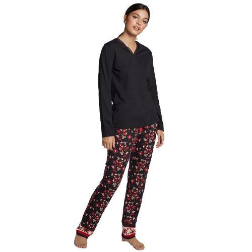 Pijama pantalón estampado de Gisela