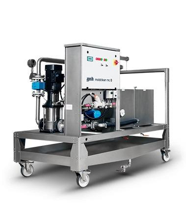 Water cleaning machine - moldclean