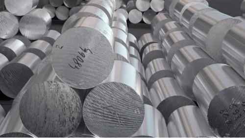 Billettes en aluminium