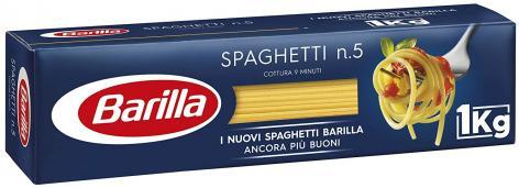 Pâtes spaghetti n°5 1kg - BARILLA