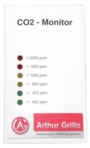 Detector de dióxido de carbono - CO2 Monitor - CM2