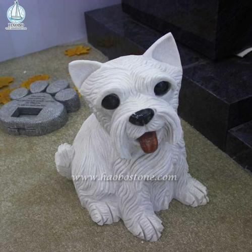 Granite Animal Carving Dog Carving