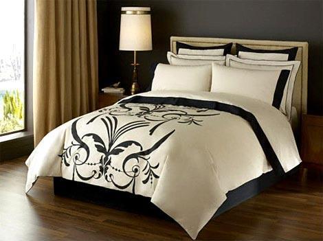 Printed duvet set ( Duvet cover, 2 pillows )