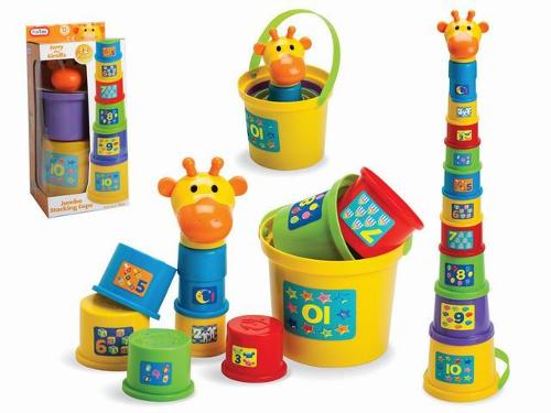 Baby Toddler Stacking Nesting Sorting Cups Blocks Toy Activi