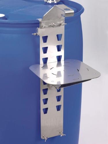 Soporte de barril para depositar recipientes