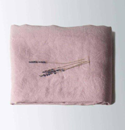 100% Washed Linen Flat Sheet