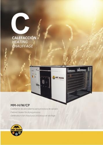 generadores de aire caliente para procesos de secado