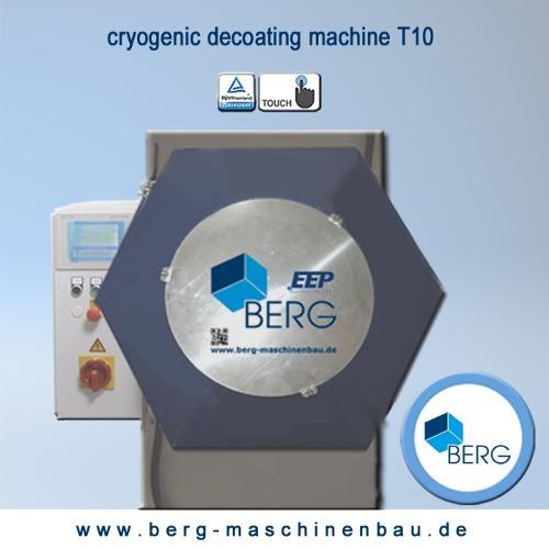 T10 Croygenic decoating machine