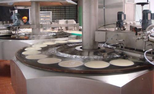 Machine Automatique cuisson 2 faces sur plaques
