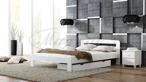 Łóżko drewniane  z litej sosny