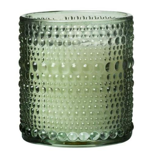 19242, Scented Candle Dot 7,2x8 Cm Green 120g - Approx 25 Hours