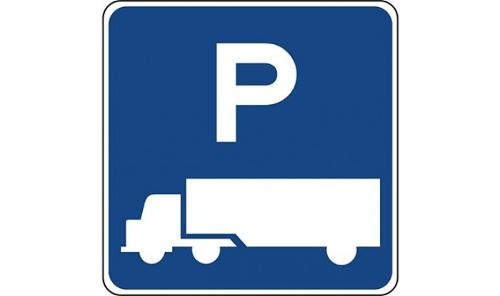 TRUCK PARKING AREA