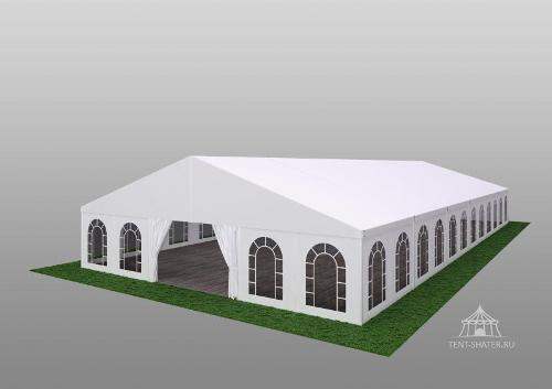 Двускатный шатер 15х30