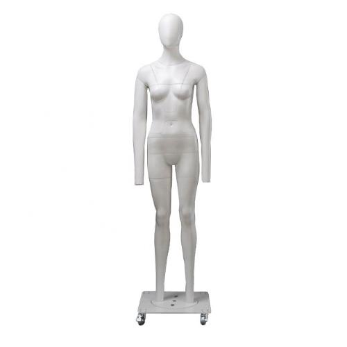 Female Invisible Mannequin Ghost All Parts