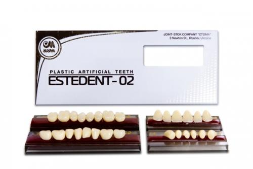 Artificial plastic teeth ESTEDENT-02