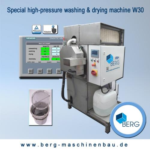 W30 special high-pressure washing & drying machine