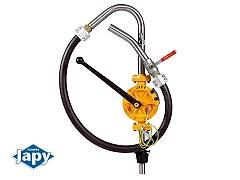 Pompe manuelle équipée semi-rotative