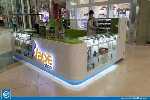 shopping mall kiosk stands