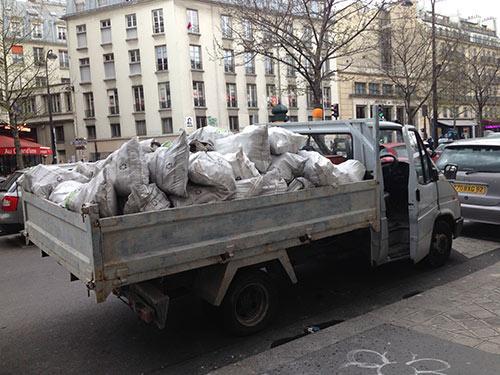 Débarras de gravats à Paris