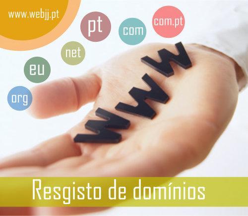 Registo de domínios .pt .com .net .com.pt .eu .org