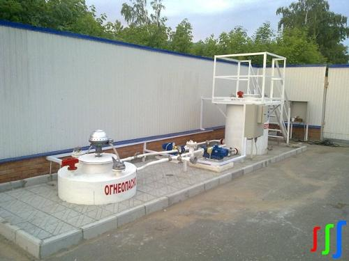 Tank farm workbench