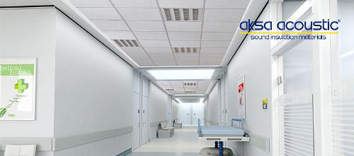 Hygienic Acoustic Suspended Ceiling Tiles