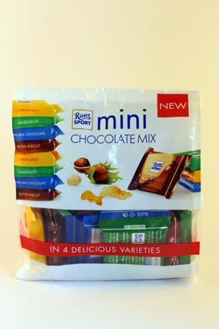 RitterSport Mini Chocolate Mix