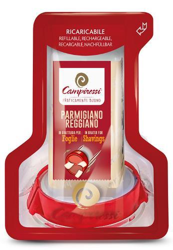 Grattugia ricaricabile Parmigiano Reggiano Foglie