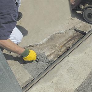Mortier de réparation béton