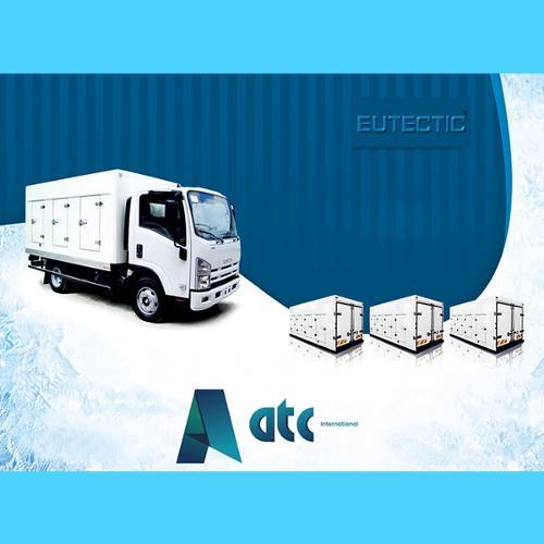 Eutectic refrigeration truck body