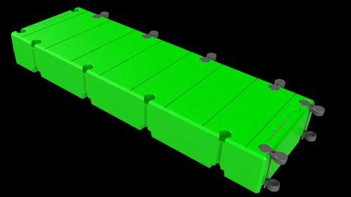 Pantalanes y plataformas flotantes