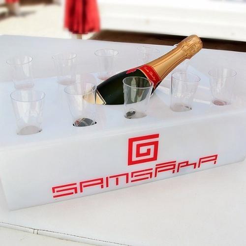Porta champagne personalizzabile