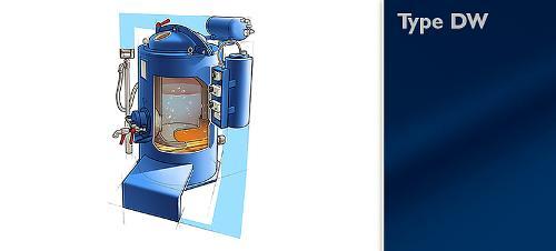 Distillation unit type DW