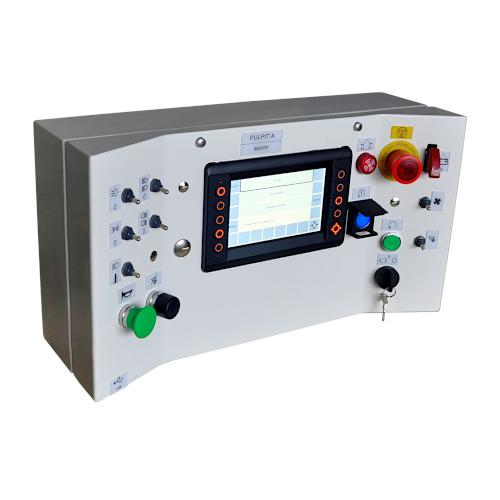Control panels for self-propelled machines