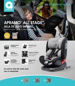 Silla de auto APRAMO All stage car seat, Apramo Unique