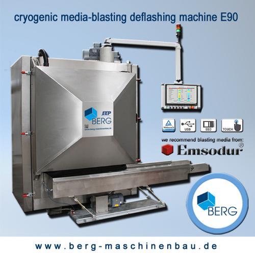 E90 kryogene Strahlentgratungsanlage