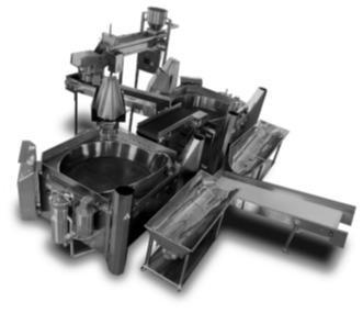 Unité de production de chips potatoes chips machines