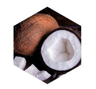 L'huile de coco (coprah)